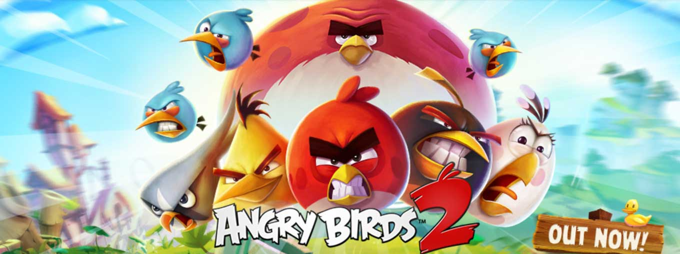 Rovio、人気シリーズAngry Birdsの最新作「Angry Birds 2」リリース