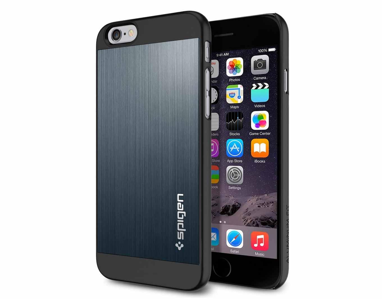 Amazon、SpigenのiPhone 6ケース「アルミニウム フィット」を1,990円で販売中(2015年7月6日タイムセール)