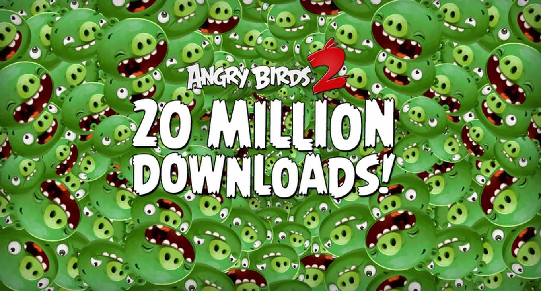 Rovio、「Angry Birds 2」がリリース最初の1週間で2,000万ダウンロードを突破
