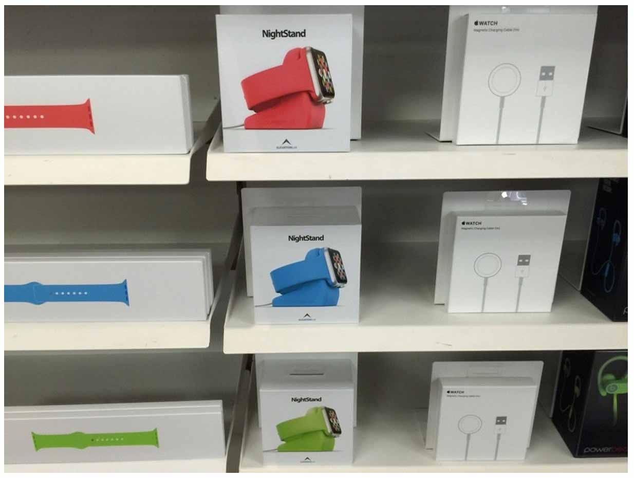 Apple、Apple Storeでサードパーティ製の「Apple Watch」アクセサリーの販売を開始