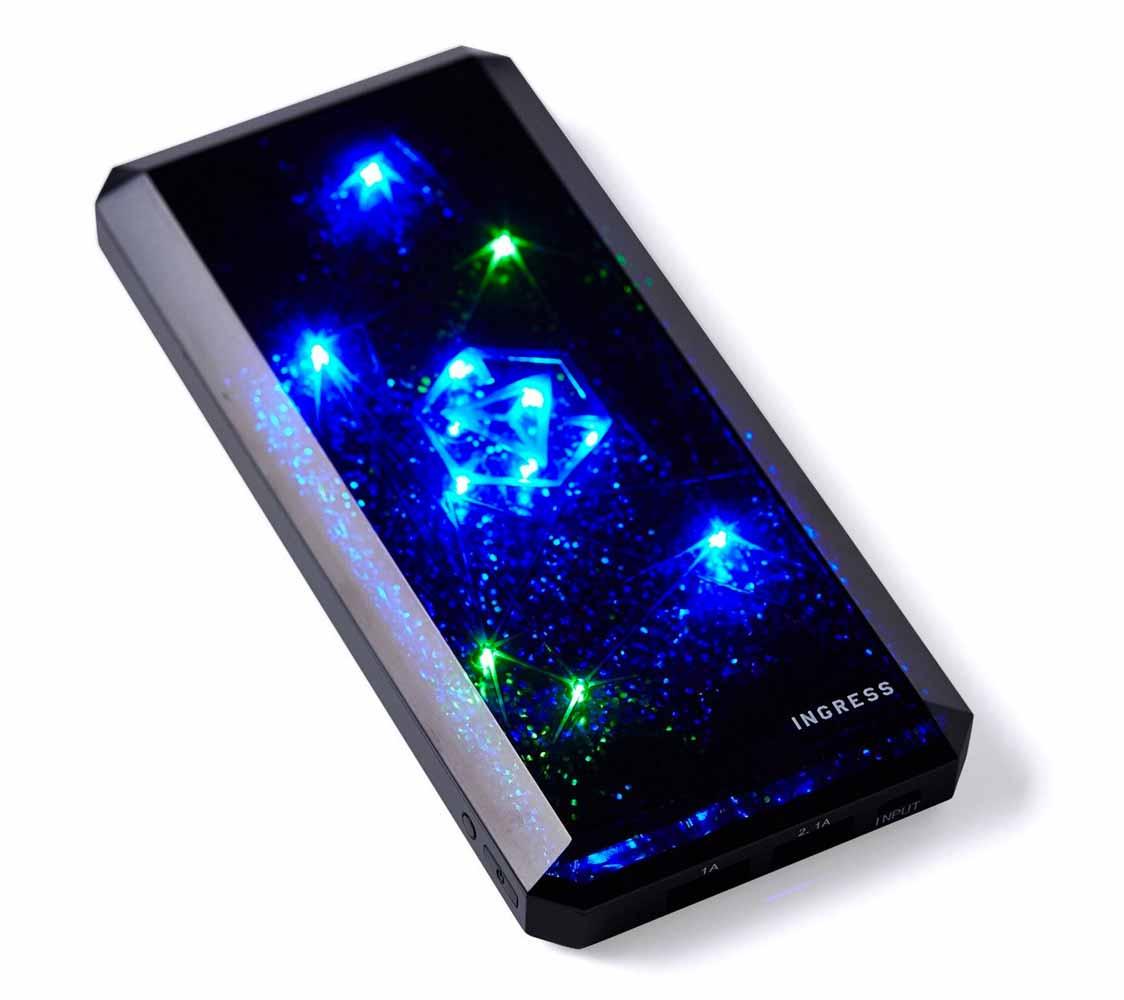 Amazon、イングレス公式モバイルバッテリー「cheero Ingress Power Cube 12000mAh」を4,480円で販売中(本日の特選品)