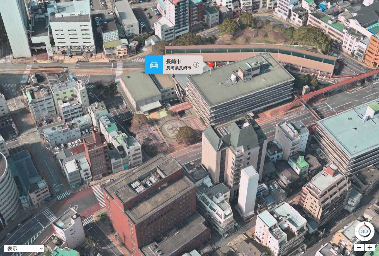 Apple、静岡・長崎を含む12の都市でマップアプリの3D Flyover機能を追加