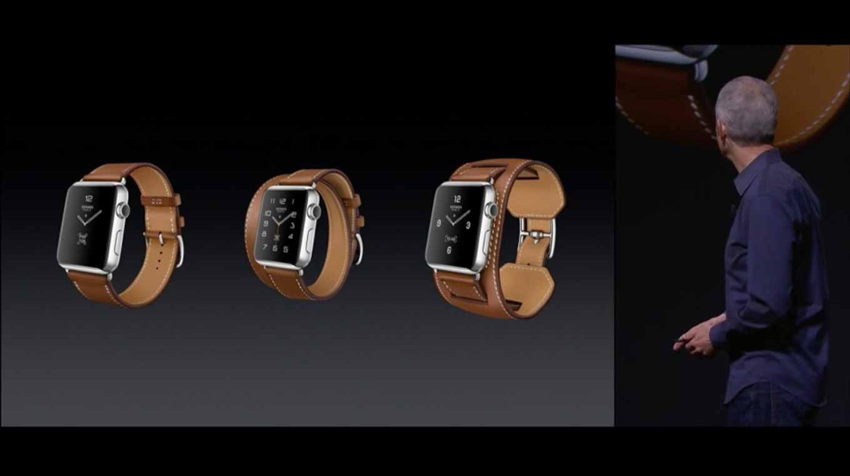 Apple、 「Apple Watch HERMES」と「Apple Watch Sport」に新たにゴールドとローズゴールドと新たな色のバンドを発表