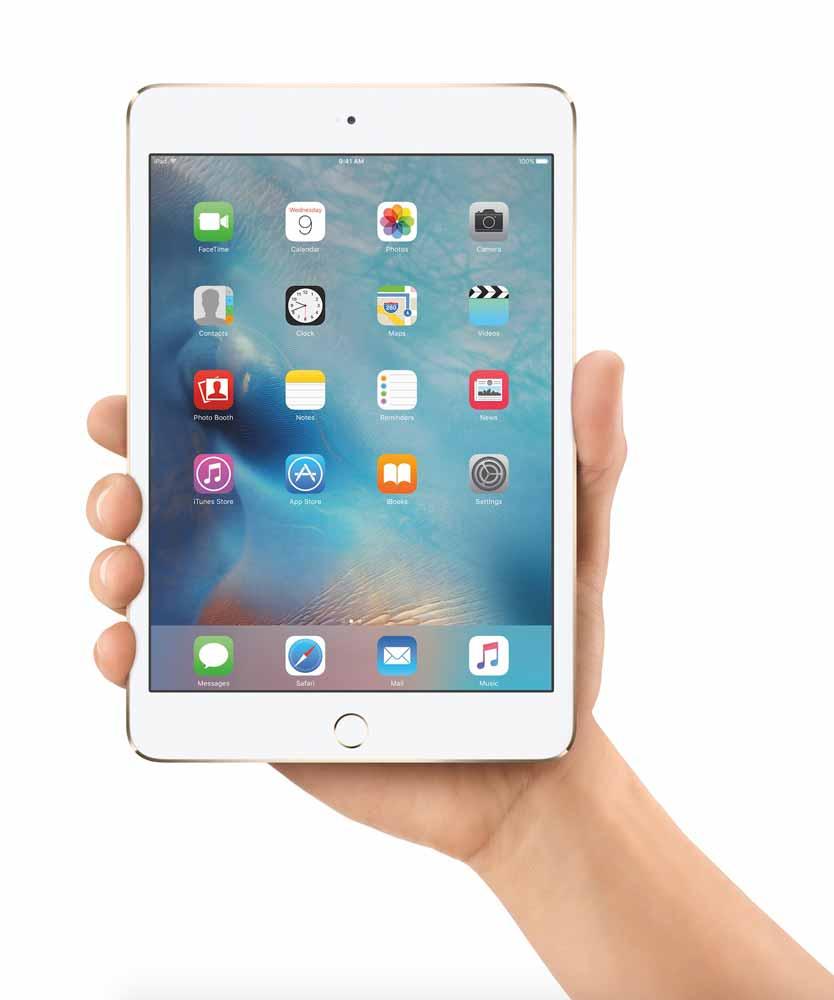 ソフトバンク、「iPad mini 4」を2015年9月19日から販売開始