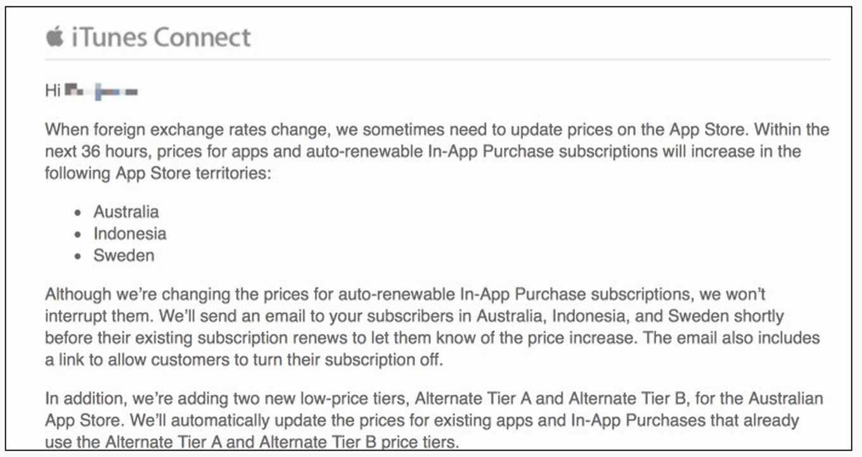 Apple、オーストラリアとインドネシア、スウェーデンでApp Storeのアプリ価格を改定へ