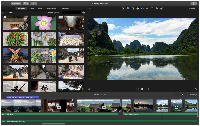 Apple、いくつかの問題を改善したMac向け「iMovie 10.1.5」リリース