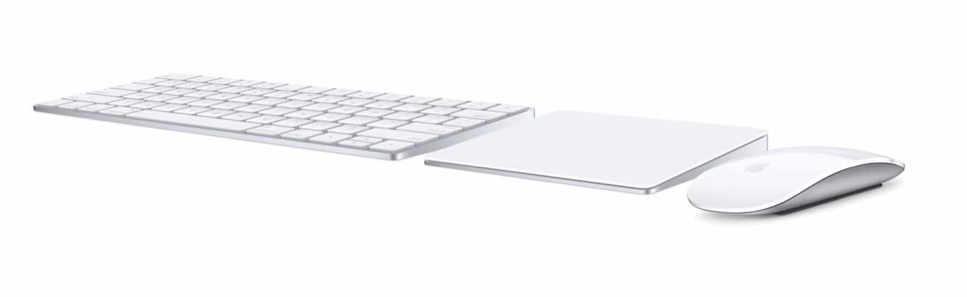 Apple、新しい「Magic Keyboard、Magic Mouse 2、Magic Trackpad 2」を発表