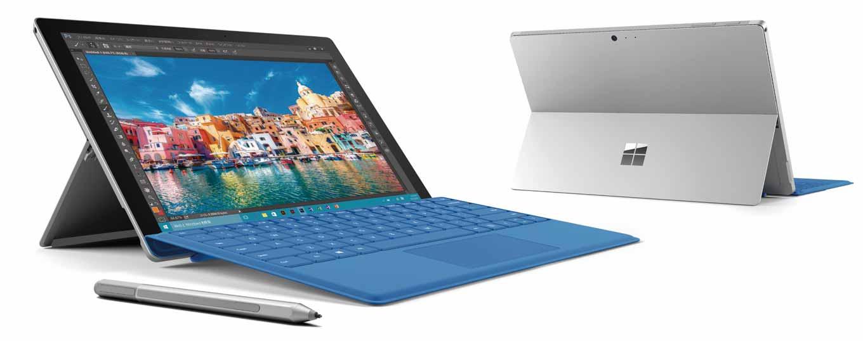 日本Microsoft、「Surface Pro 4」の販売を開始