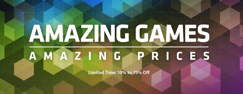 Mac App Store、対象アプリが最大75%オフになるキャンペーン「AMAZING GAMES AMAZING PRICES」実施中