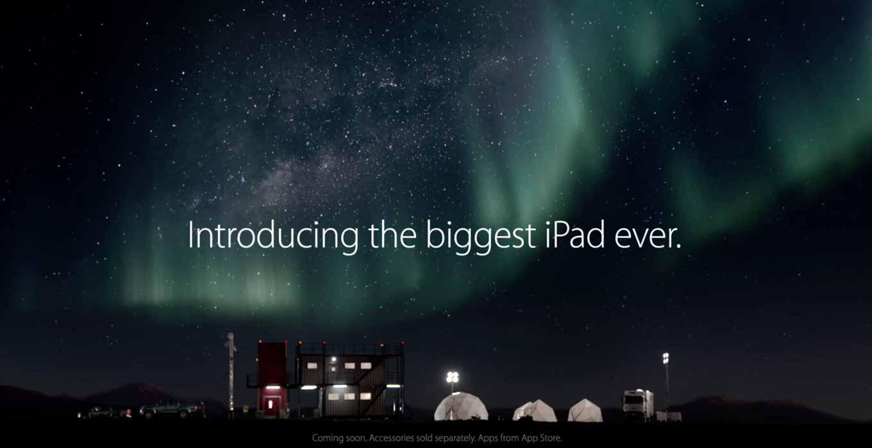 Apple、「iPad Pro」のTVCM「A Great Big Universe」を公開