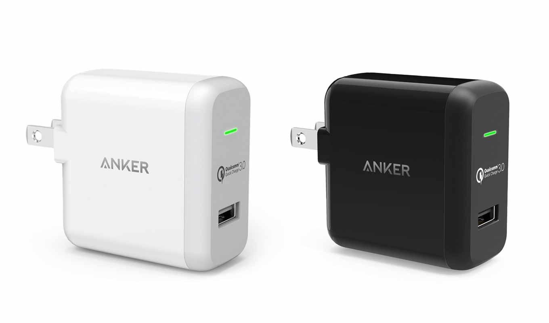 Anker、Quick Charge 3.0に対応したUSB急速充電器「Anker PowerPort+ 1」の販売を開始