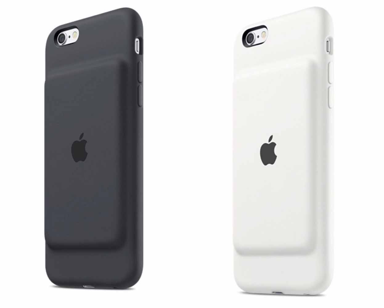 Apple、「iPhone 6/6s」向けバッテリー内蔵ケース「iPhone 6s Smart Battery Case」の販売を開始