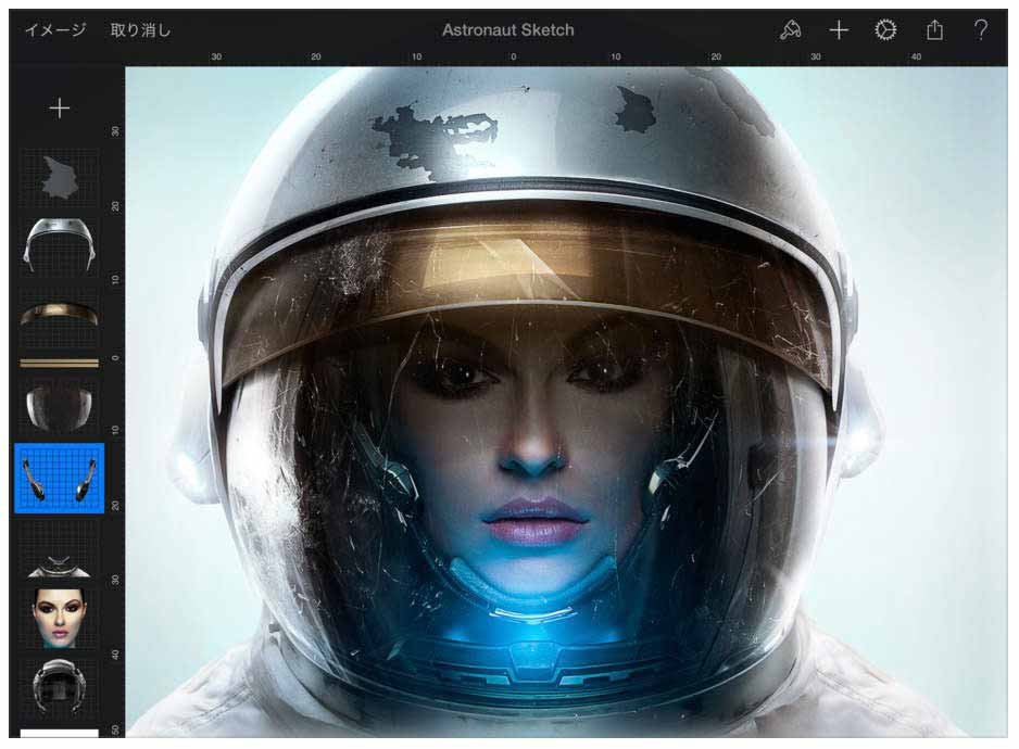 Pixelmator Team、iOSアプリ「Pixelmator 2.2」リリース – iPad ProやApple Pencil、3D Touchに対応