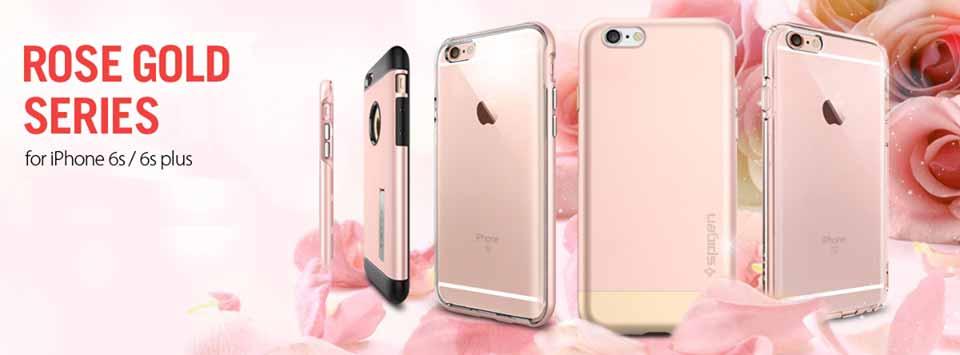 Spigen Japan、「iPhone 6s/6s Plus」用ローズゴールドケースが最大60%オフになる期間限定セールを実施中