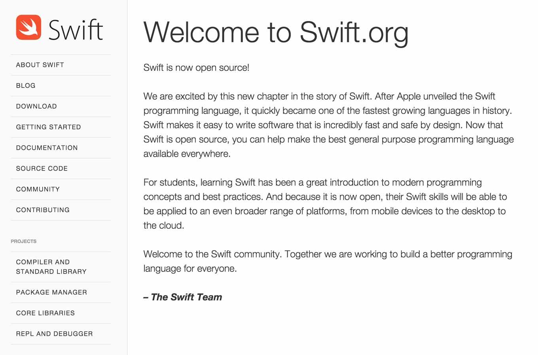 Apple、プログラミング言語「Swift」をオープンソースとして公開