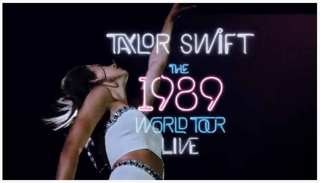 Apple Music、Taylor Swiftのライブビデオ「The 1989 World Tour – LIVE」の動画広告をGayoで展開中