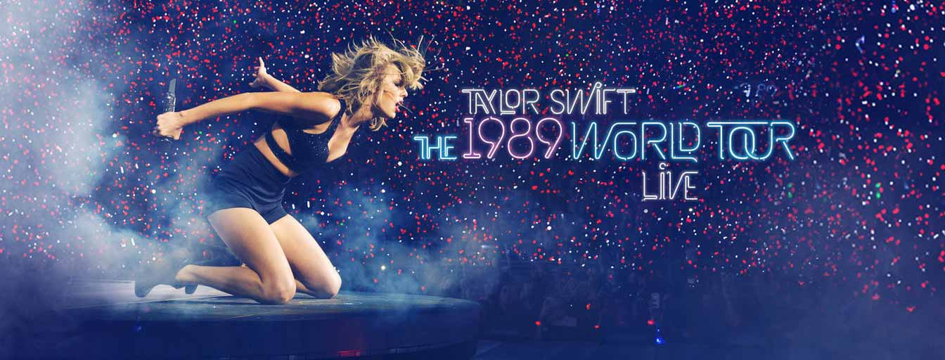 Apple Music、Taylor Swiftのライブビデオ「The 1989 World Tour – LIVE」の配信を開始