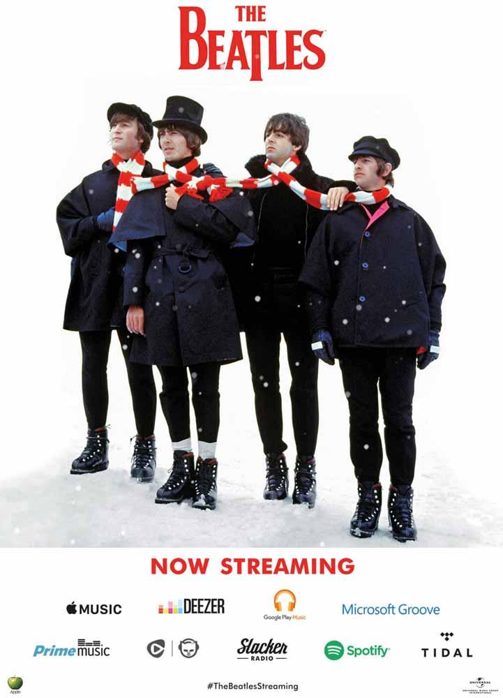 Apple Musicなどで「The Beatles」の楽曲配信を開始
