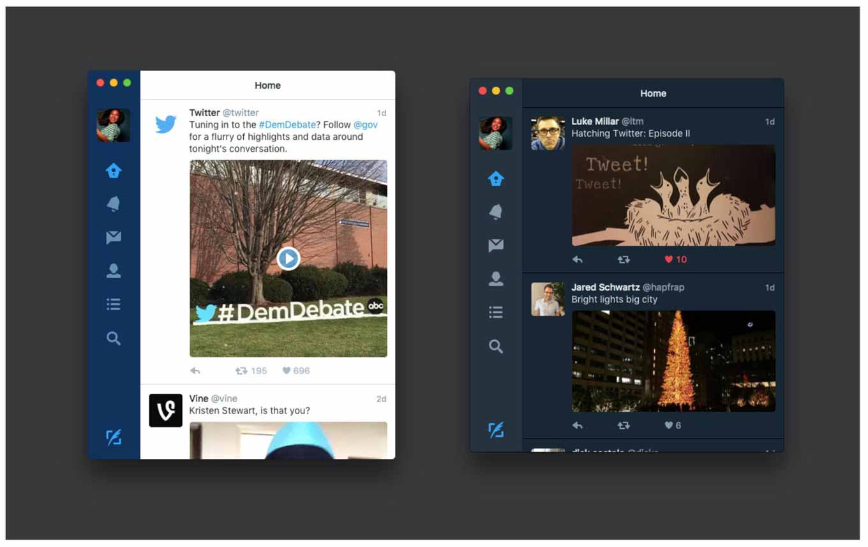 Twitter、「Twitter for Mac 4.0」リリース インラインビデオなどに対応