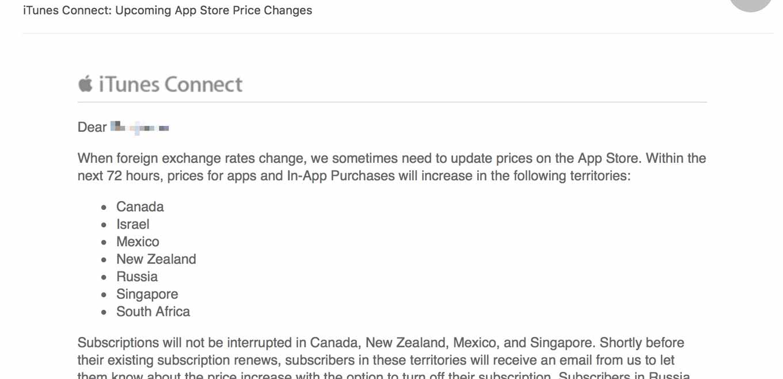 Apple、カナダやニュージーランドなどでApp Storeの価格を改定し値上げへ