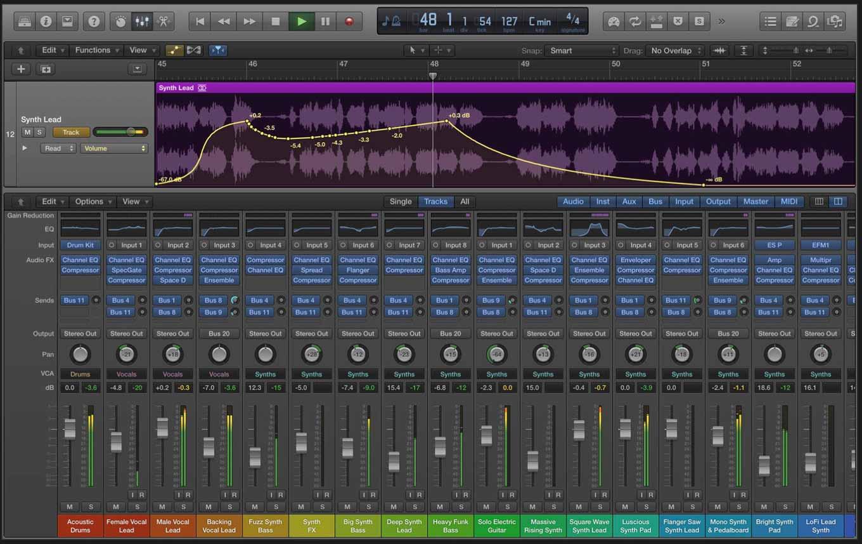 Apple、多数の修正および改善点を含んだMac向けアプリ「Logic Pro X 10.2.1」リリース