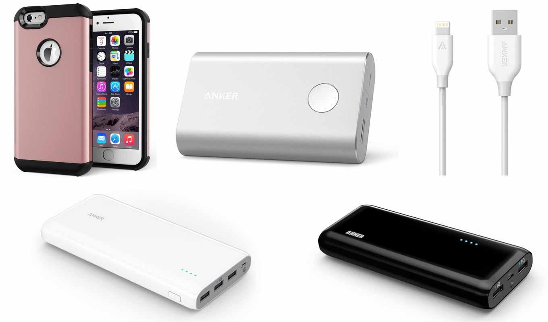 Amazon、Ankerのモバイルバッテリー、Lightningケーブルなどを特別価格で販売中(2016年2月7日タイムセール)