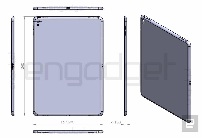 「iPad Air 3」の新たな図面がリークされる!? やはりSmart Connector搭載?