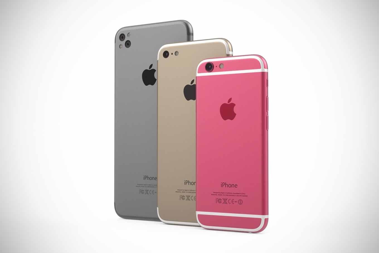 「iPhone 5se」のピンクや「iPhone 7」のコンセプトデザイン