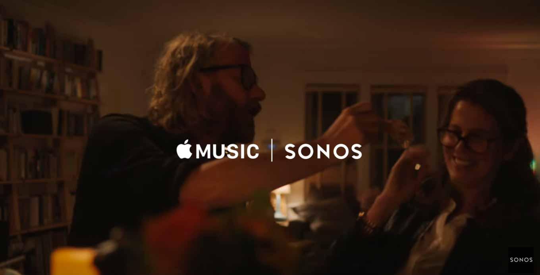 SONOS、Apple Musicとの連携をアピールしたTVCMを公開