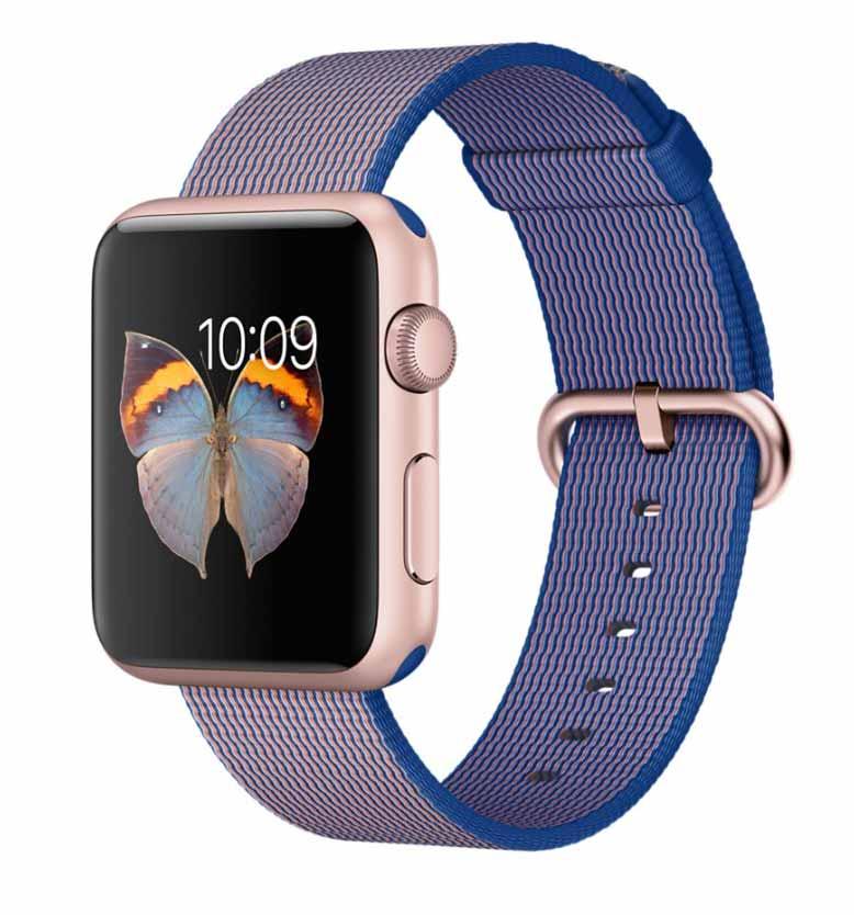 Apple、「Apple Watch Sport」の価格を値下げし、新たにナイロンバンドなどの販売を開始