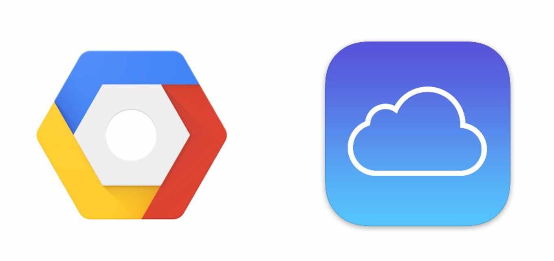 AppleのiCloudの一部がGoogleのクラウドプラットフォームによって供給されていることが明らかに