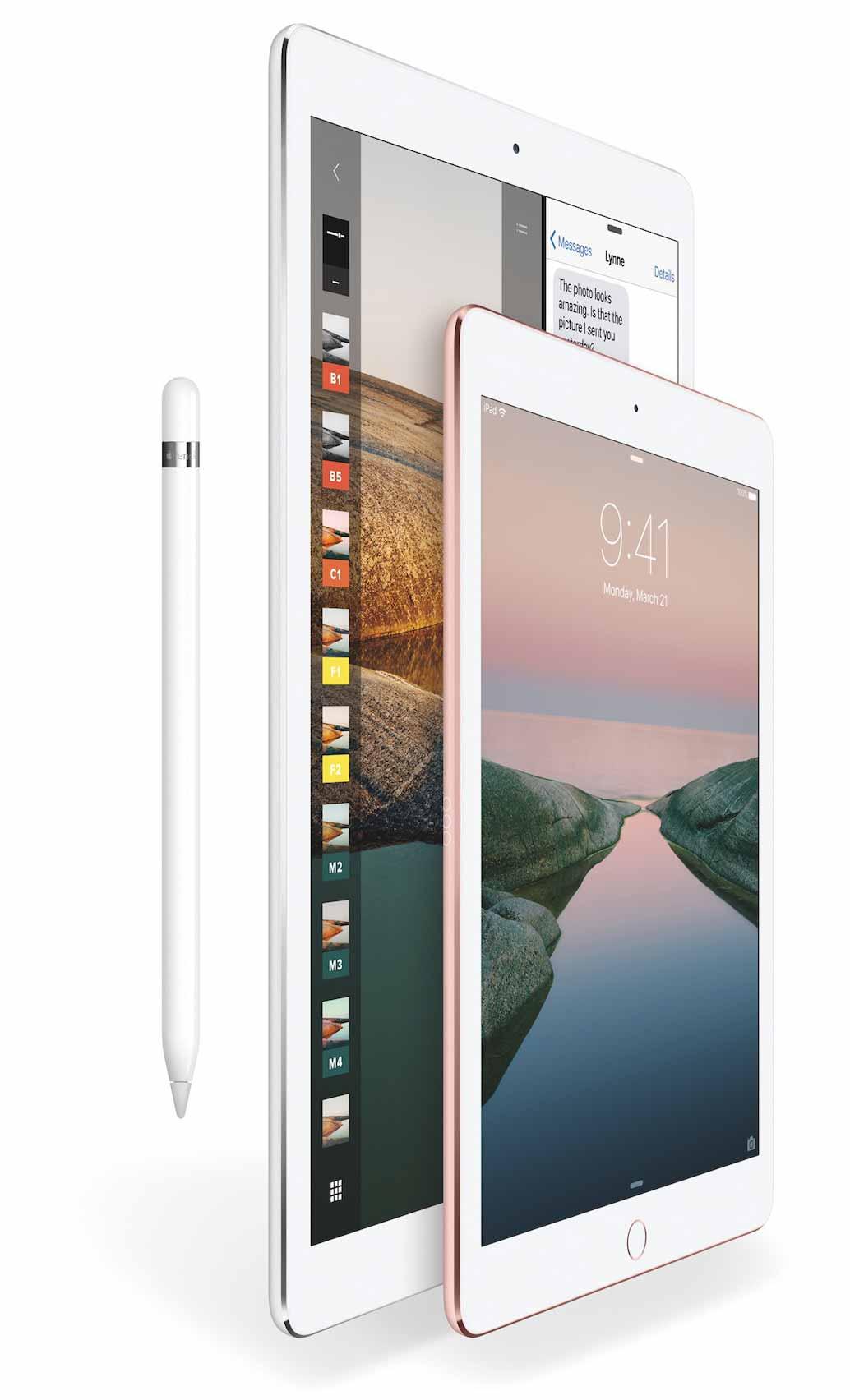 Apple、2017年に「10.5インチ iPad Pro」を含む3つのiPadを発表!?
