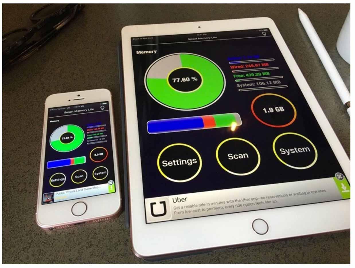 「9.7インチ iPad Pro」に搭載されているメモリは2GB - ベンチマークスコアも明らかに