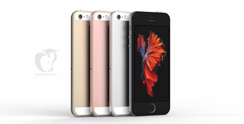 今までの噂をもとにした「iPhone SE」のモックアップ画像