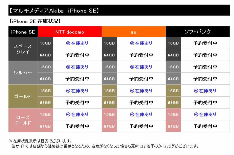 ヨドバシカメラ、「iPhone SE」の各店舗の在庫状況を公開
