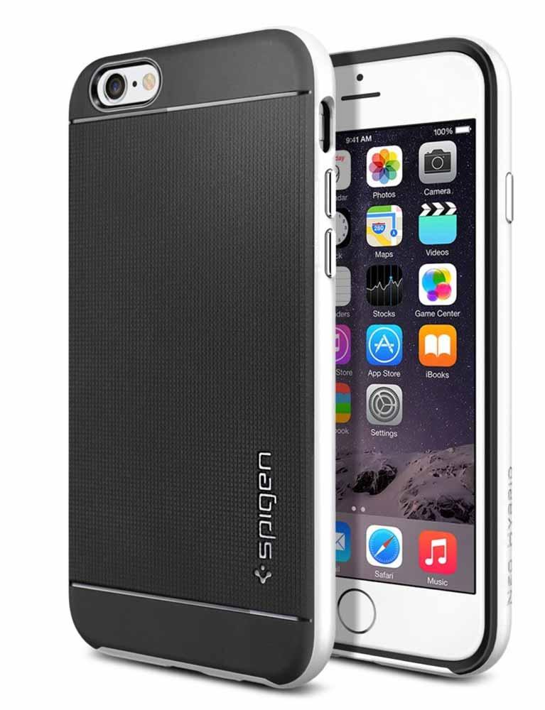 Amazon、SpigenのiPhone 6向けケース「ネオ・ハイブリッド」を490円で販売中