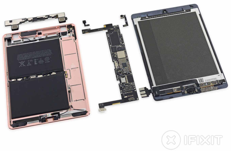 iFixit、「9.7インチ iPad Pro」のバラシレポートを公開