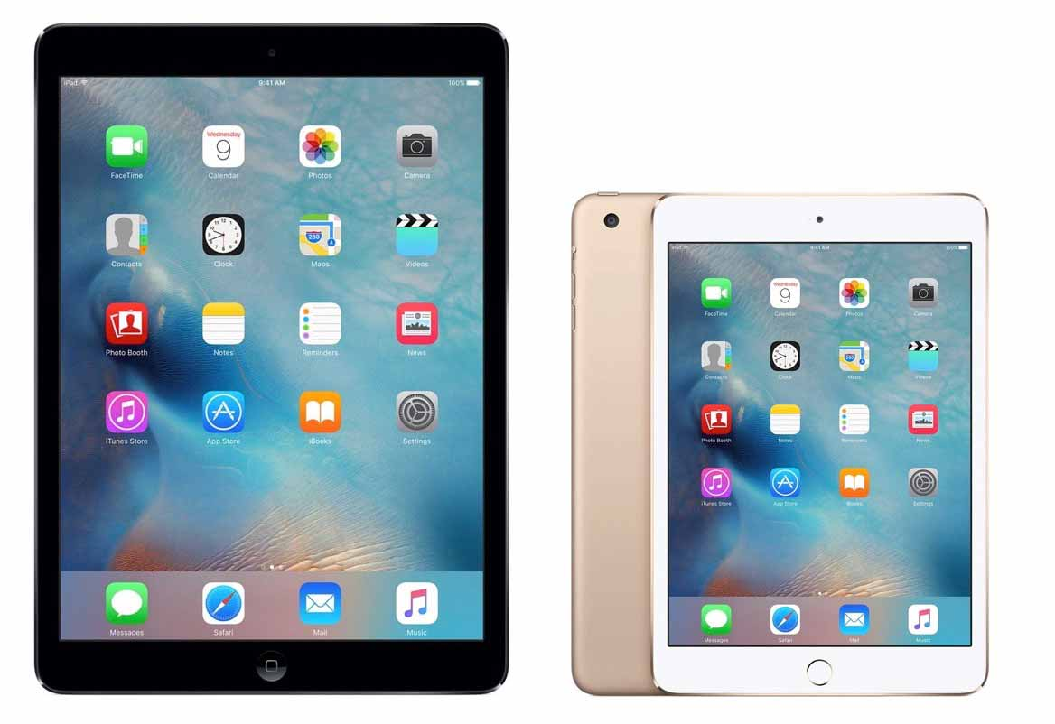 Apple、iPad整備済製品情報 (2016年12月5日)