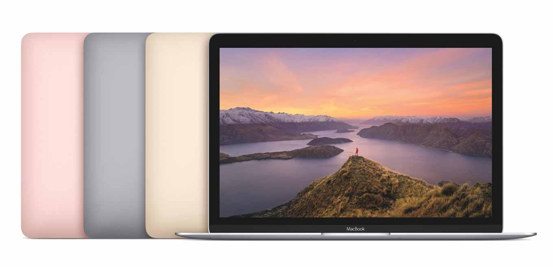 Apple、ローズゴールドモデルを追加した新型「MacBook」を発表