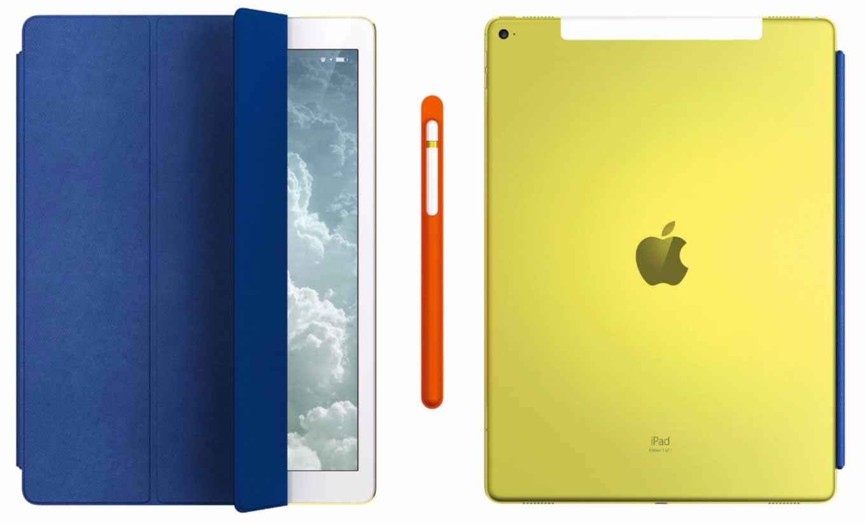 Jony Ive氏がデザインしたイエローの12.9インチ「iPad Pro」などがチャリティオークションに出品される