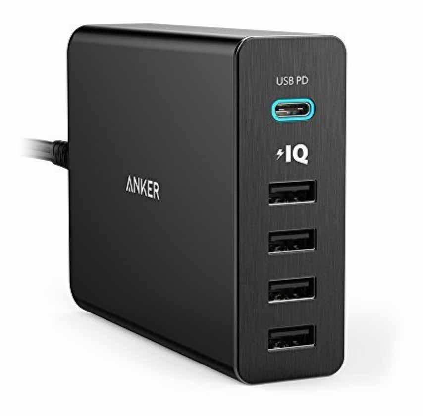 Anker、USB-C PDに対応しMacBookも充電できる急速充電器「Anker PowerPort+ 5 USB-C Power Delivery」の販売を開始