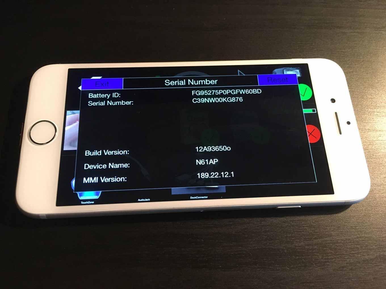 赤いLightningコネクタが付いた「iPhone 6」のプロトタイプがebayに出品中 - テストアプリも動作