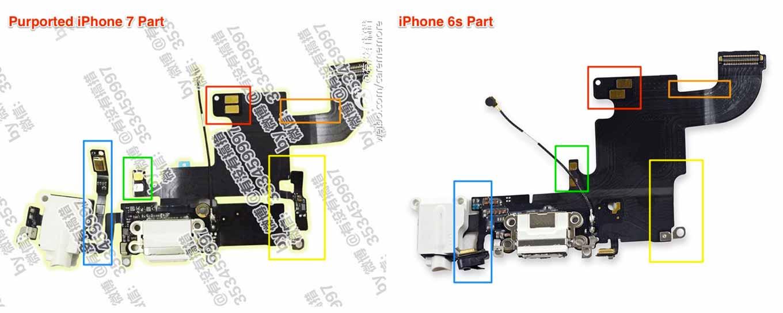 「iPhone 7」のパーツとされる画像がリーク??ヘッドフォンジャックもある?