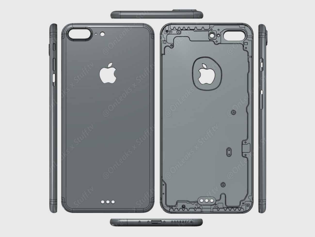 「iPhone 7 Plus」のプロトタイプとされる3Dレンダリング動画が公開される!?