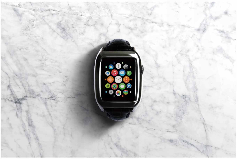 SQUAIR、Jean Rousseauと共同開発したApple Watch向けケース&ストラップ「The Watch」を発表
