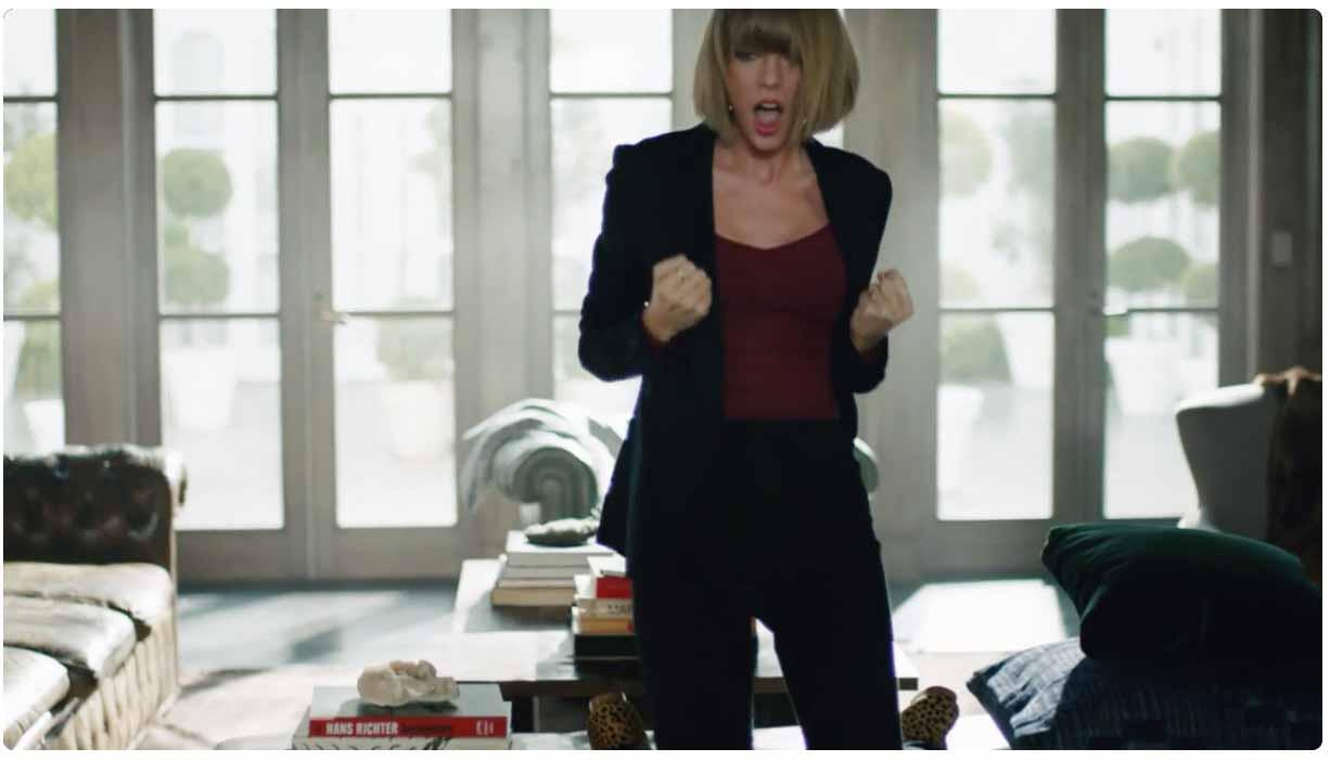 Apple、Taylor Swiftが踊りまくる「Apple Music」の新しいプロモーション動画を公開 - Dance like no one's watching