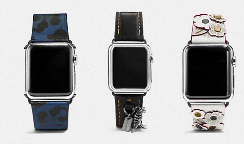 COACH、「Apple Watch」向けバンドを6月12日から販売開始か!?