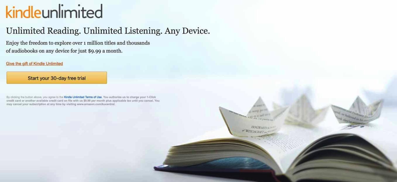 Amazonの「Kindle Unlimited」には講談社や小学館などが参加、8月にも提供開始へ