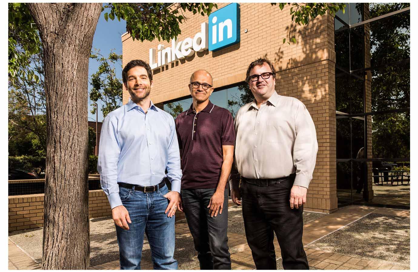 Microsoft、「LinkedIn」を買収することを発表、買収額は262億ドル