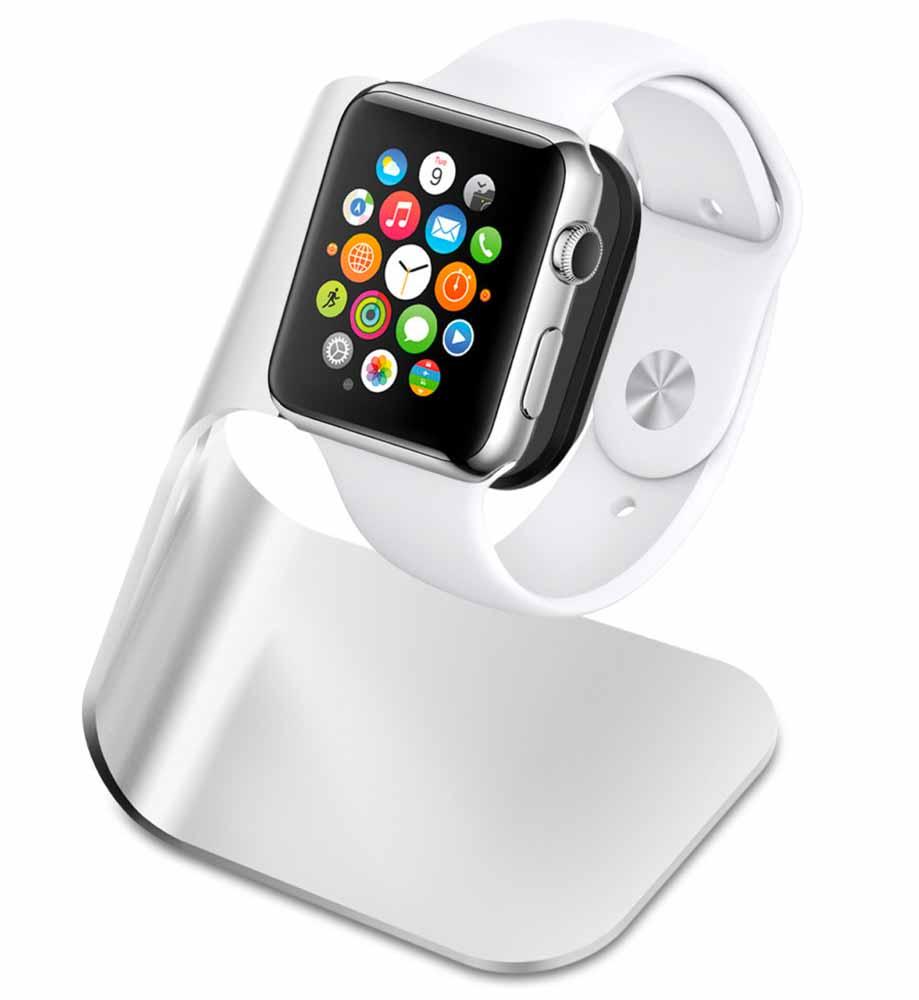 Amazon、SpigenのApple Watchスタンド「S330」を69%オフの1,690円で販売中(6月4日タイムセール)